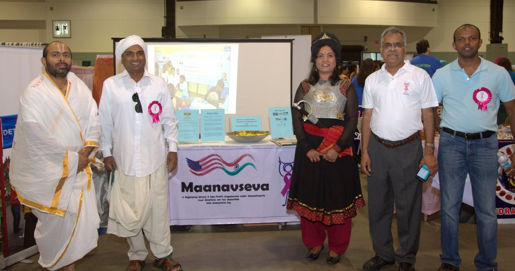 A few of the performers: The Priest, Village Farmer, Rani Rudrama Devi visited our stall at the event.